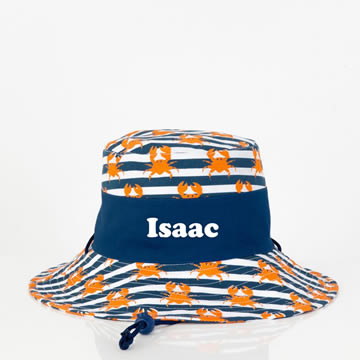 1458cf93f86 ... Bucket Hat Personalised - Crabby. Previous 1 of 2 (Enlarge) Next