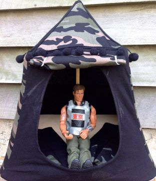Kids Mini Play Tent Teepee - Action Man Camo Design : pop up teepee tent - memphite.com